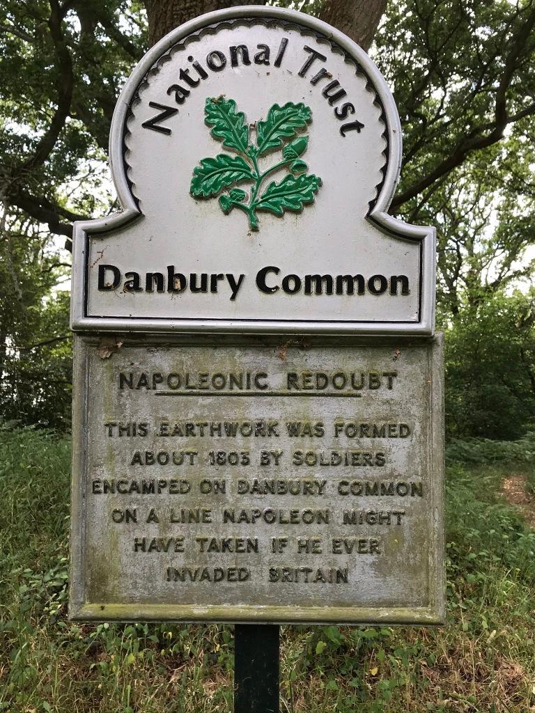 Danbury Common Napoleonic Redoubt